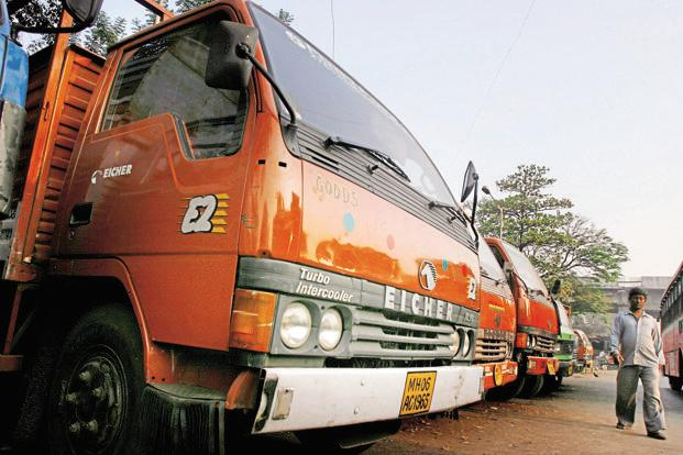 Eicher Motors's total consolidated income was higher by 29.49% to Rs2,332.67 crore during the first quarter. Photo: Bloomberg