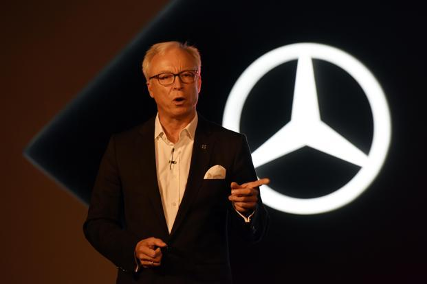 The proposed hike in cess on luxury cars has put Mercedes-Benz India CEO Ronald Folger in a spot. He was lobbying hard to get more car models to India and make them locally in order to expand the market. Photo: HT