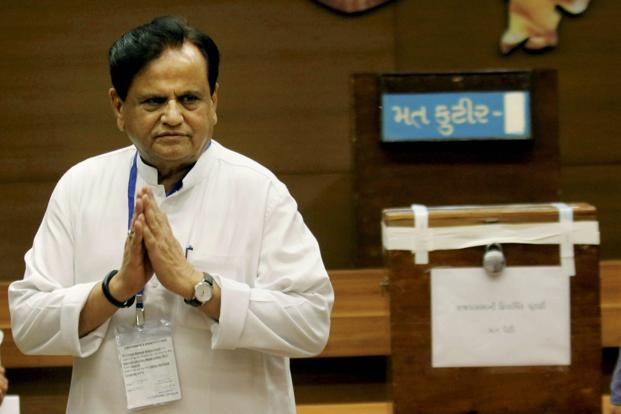 Ahmed Patel has admitted that the Rajya Sabha election was the 'toughest' he has ever fought in his life. Photo: PTI