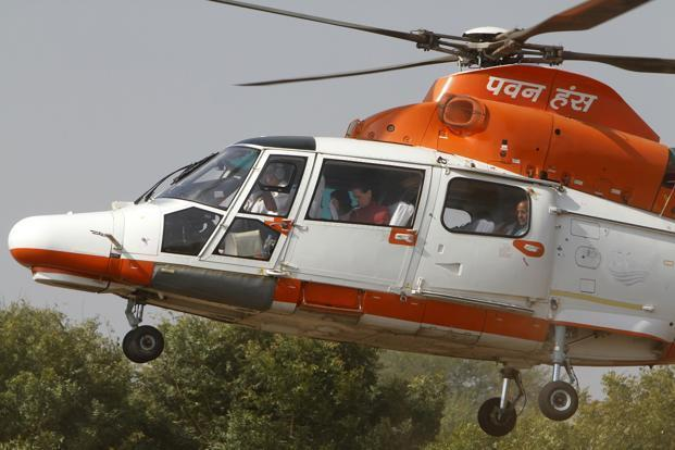 In October last year, the cabinet committee on economic affairs (CCEA) had given its in-principle approval for strategic disinvestment of profit-making Pawan Hans. Photo: Reuters
