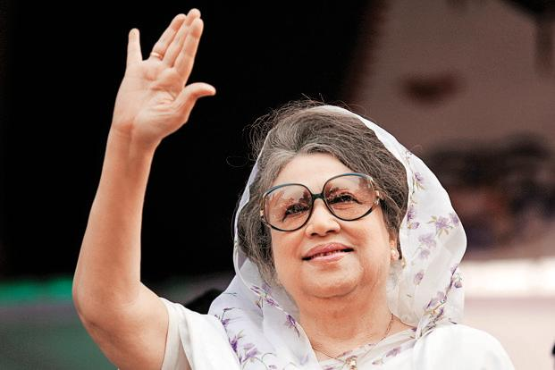 Khaleda Zia, accused in 37 cases, is now on bail in all the cases, her lawyer said. Photo: Reuters