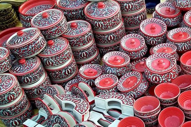 Several handicrafts will be on sale at the Dastkar Nature Bazaar.
