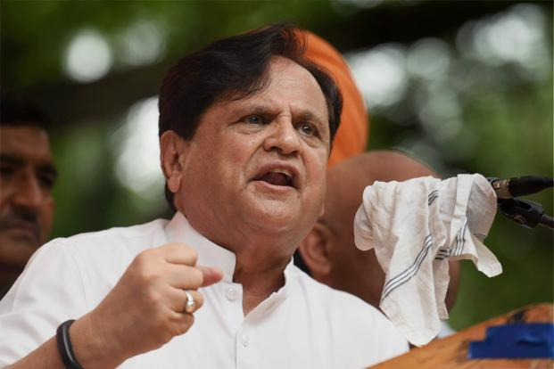 The Gujarat Rajya Sabha elections on Tuesday saw Amit Shah and Smriti Irani win uncontested, while Congress veteran Ahmed Patel (in photo) fought it out to retain his seat in the upper house. Photo: PTI