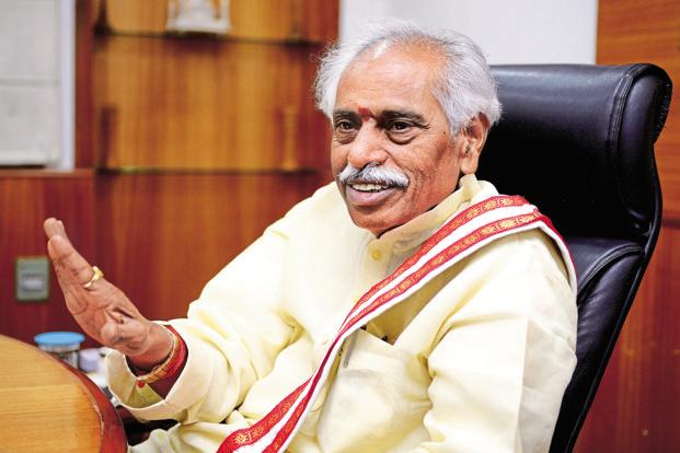 Labour minister Bandaru Dattatreya says the bill is going to bring in a historical change in the wages for workers and universal minimum wages will be implemented for the first time in India. Photo: Priyanka Parashar/Mint