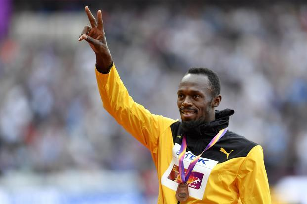 Usain Bolt ran his last individual race, the 100m, last Saturday, managing only a bronze; no fairytale finish for him. Photo: AP