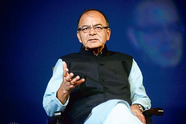 Finance minister Arun Jaitley said that apart from the introduction of insolvency and bankruptcy code, the government has amended the laws for debt recovery tribunal and allowed 100% FDI in asset reconstruction companies. File photo: Mint