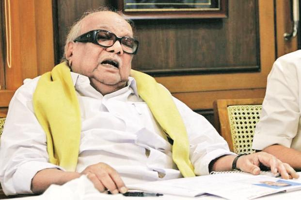 As an 18-year-old, DMK president M. Karunanidhi started publishing handwritten notices named Murasoli, under the pen name Cheran in 1942, while the Second World War was underway. Photo: Reuters