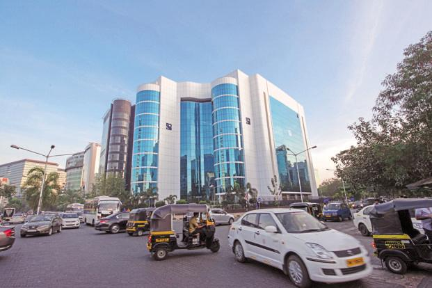 Sebi headquarters in Mumbai. J. Kumar Infraprojects and Prakash Industries shares will resume trading on Friday, BSE said in a late evening notice. Photo: Mint