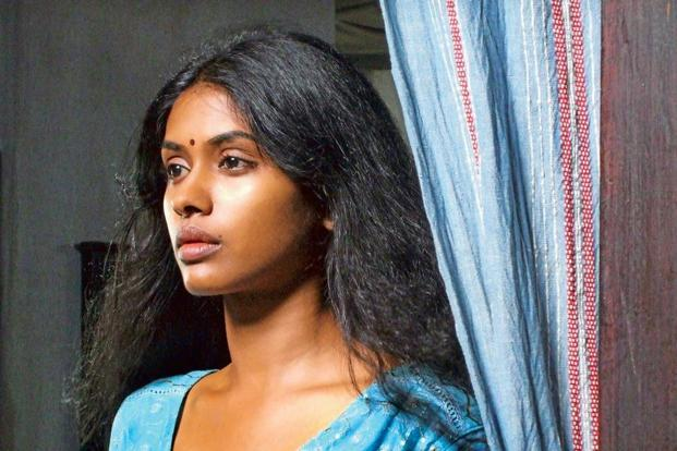 Anjali Patil in a still from the Sinhalese film'With You, Without You'.