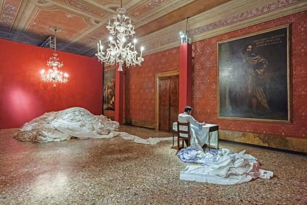 '998.9' (2015), Gupta's installation at the Venice Biennale.