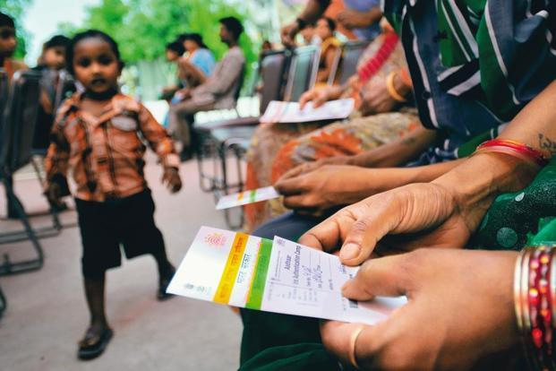 As on 28 June, there were over 25 crore PAN cardholders in the country, while Aadhaar has been issued to 111 crore people. Photo: Priyanka Parashar/Mint