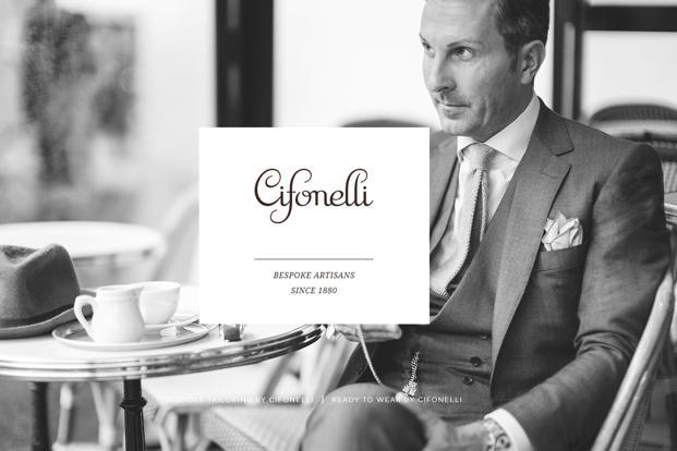 Cifonelli is planning to expand in London and Singapore in 2018.