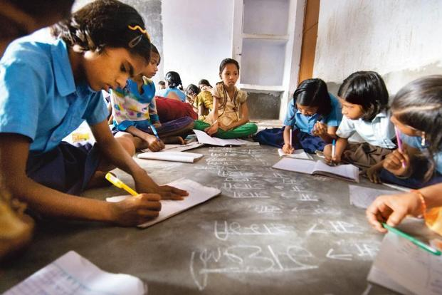 The Economic Survey said the government must work to provide quality education to help families get good return on education investments. Photo: Sneha Srivastava/Mint