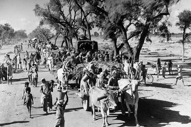 Partition saw millions of people crossing the borders. Photo: Getty Images.