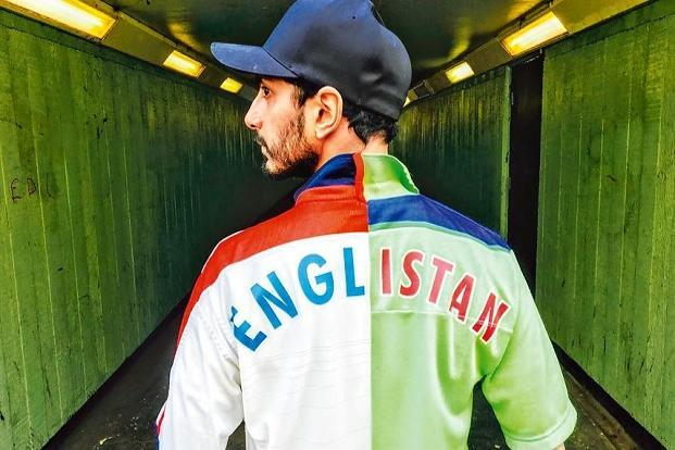 Riz MC in a still from the video for 'Englistan', the title track from his new mix-tape.