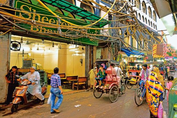 Shereen Bhawan in Old Delhi is known for its extensive selection of 'halwas'. Photo: Pradeep Gaur/Mint