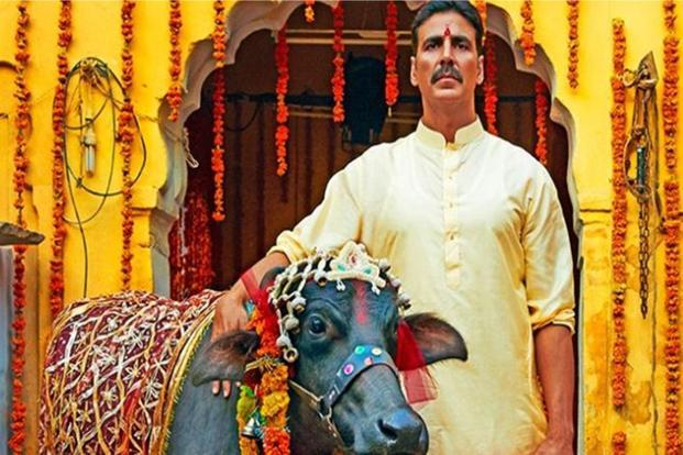 Akshay Kumar in a still from 'Toilet: Ek Prem Katha'.