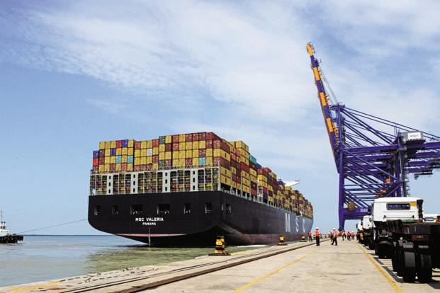 The profit after tax is lower due to higher tax incidence at Mundra which is now out of tax holiday period, Adani Ports said. Photo: AFP
