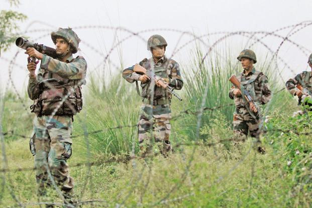 Kashmir: Security forces engage in gunfight with terrorists trapped in Awneera village