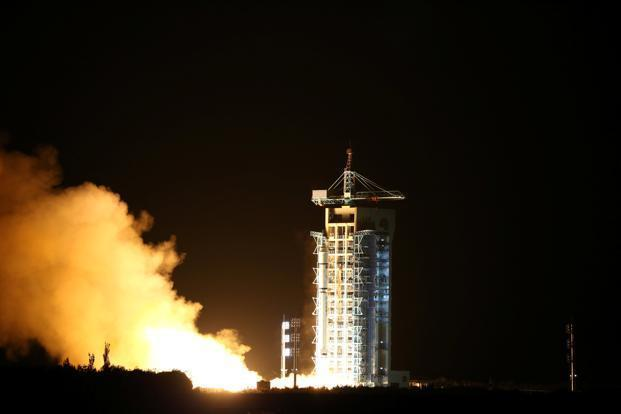 China launched the world's first quantum satellite last August. Photo: Reuters