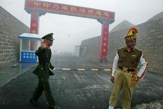 India, China have been locked in a face-off in the Doklam area of the Sikkim sector for nearly 8 weeks after Indian troops stopped the Chinese Army from building a road in the area. Photo: AFP