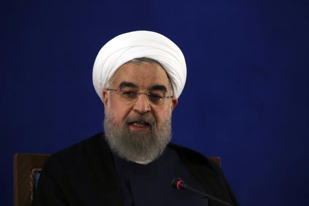 A file photo of Iranian President Hassan Rouhani. Photo: AP