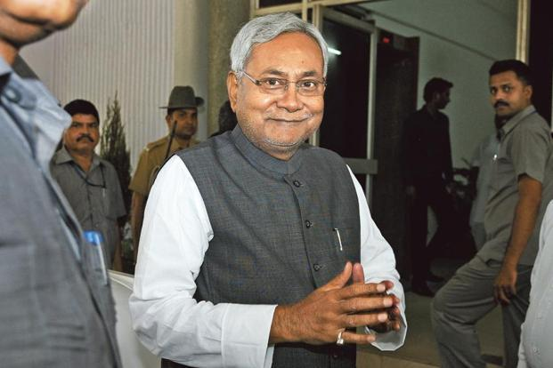 Nitish Kumar-led JDU snapped ties with Lalu Prasad's RJD and Congress last month and realigned its state government in an alliance with the BJP. Photo: HT