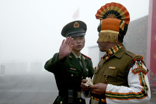 India, China have been locked in a face-off in the Doklam area for the last 50 days after Indian troops stopped the Chinese People's Liberation Army (PLA) from building a road in the area. Photo: AFP