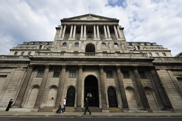 Sterling's substantial depreciation augurs a significant rise in inflation, which means the Bank of England will have to start raising interest rates sooner rather than later. Photo: Bloomberg