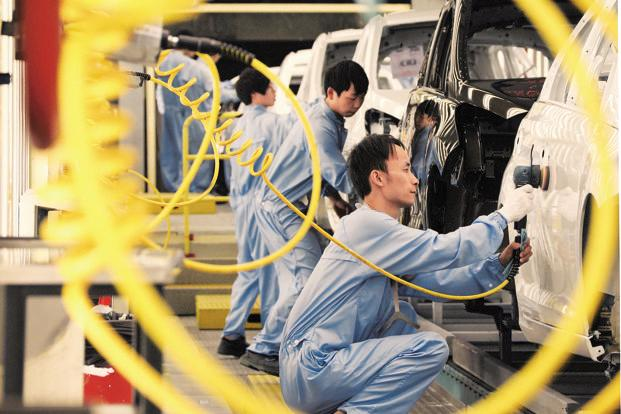 Output slows but economy keeps in good shape