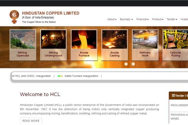 Santosh Sharma has been appointed as chairman and managing director (CMD) of Hindustan Copper Ltd for a period of five years.