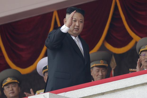 N.Korean leader briefed on missile-launch plan