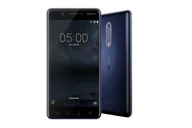 The Nokia 5 Android phone will be available in retail stores from Tuesday at Rs12,499.