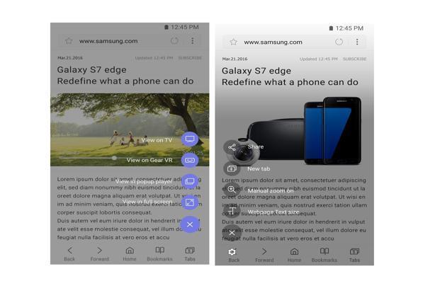 Samsung's official mobile browser, which was limited to Samsung smartphones until now, has been realised for all Android devices running Lollipop or a higher version.