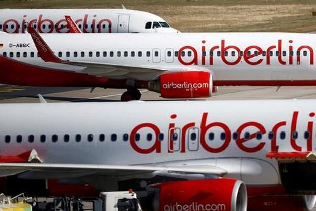 Air Berlin Files for Bankruptcy; Israeli Flights Unaffected for Now