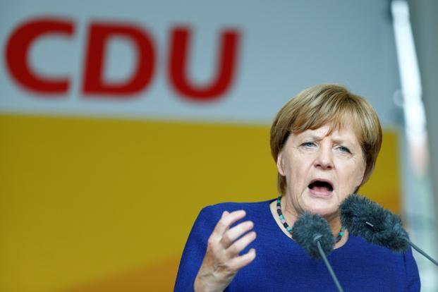 Angela Merkel says Charlottesville far-right violence is 'absolutely repulsive'