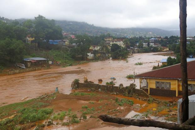 Sierra Leone mudslide: At least 600 still missing in Freetown