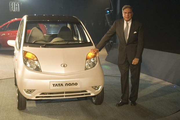 Despite its subsequent failure, Nano, an affordable car that a middle class Indian could aspire for, was Ratan Tata's grand vision. Photo: Ramesh Pathania/Mint