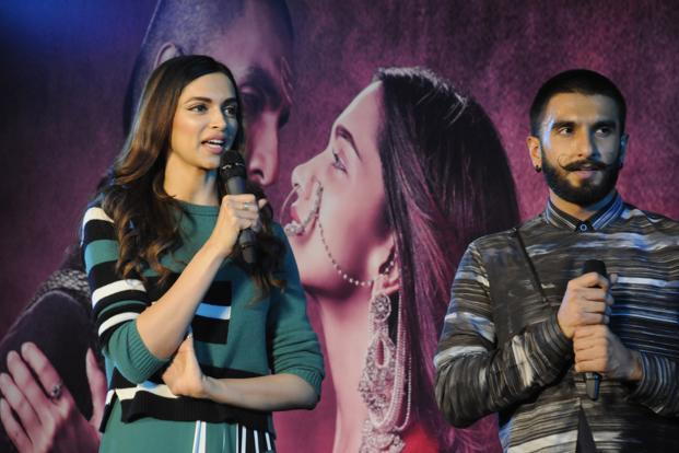 Padmavati, starring Deepika Padukone and Ranveer Singh, has a budget of Rs180 crore, making it one of India's most expensive movie productions. The film is scheduled for a 17 November release. Photo: HT