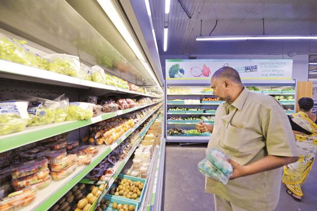 Sales and profit growth were hit by transition to GST as retailers stopped stocking goods and liquidated stocks ahead of the tax reform's 1 July rollout. Photo: Hemant Mishra/Mint