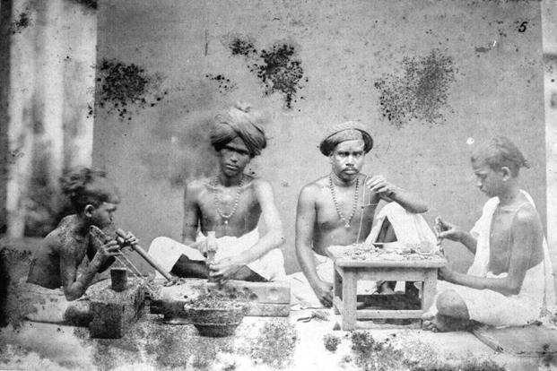 'Madras Jewellers' from 'Old Madras'.