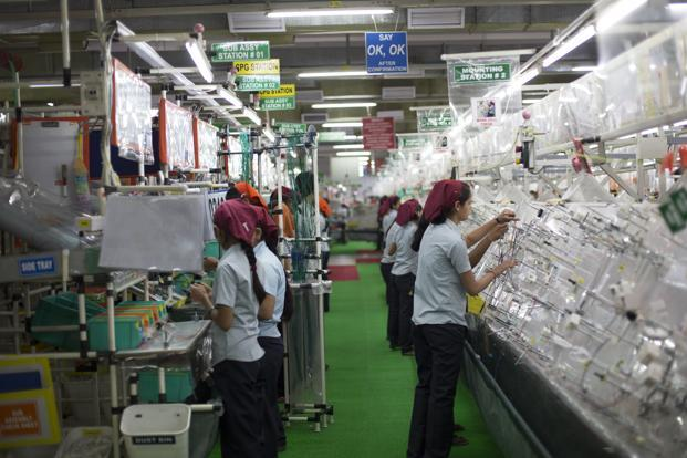 This quarter, even Motherson Sumi's domestic margins were under pressure. Photo: Bloomberg