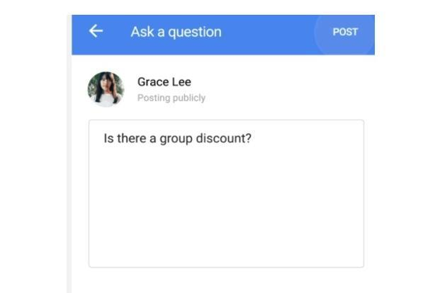 Google has added a Q& A section in Google search.