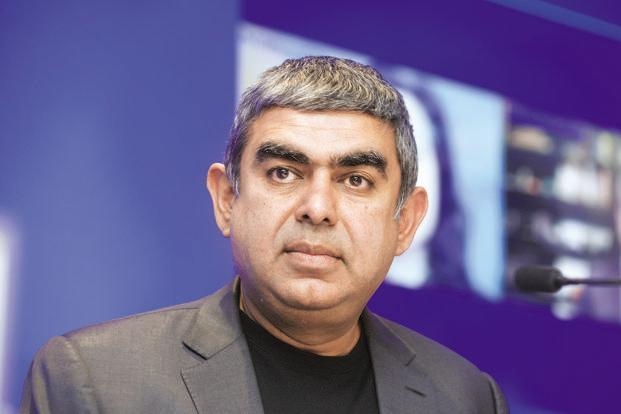 Vishal Sikka wrote in his blog post 'I spent 100s of hours tackling the drumbeat of distraction'. Photo: Abhijit Bhatlekar/Mint