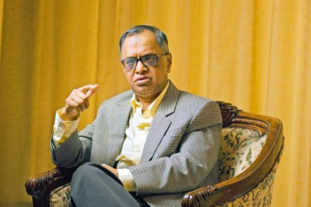 N.R. Narayana Murthy. Photo: Mint