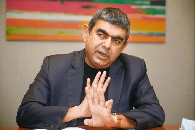 Vishal Sikka. Photo: Abhijit Bhatlekar/Mint.