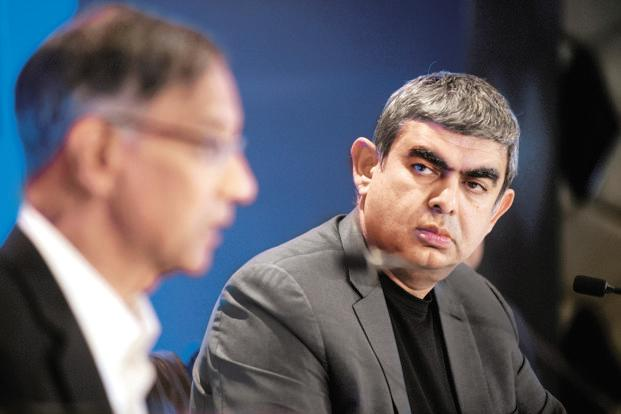 Infosys CEO Vishal Sikka resigned on Friday after three years at the helm. Photo: Abhijit Bhatlekar/Mint