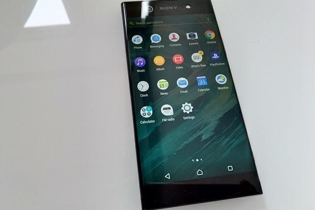 The Sony Xperia XA1 Ultra runs Android 7.0 out of the box with the Xperia UI on top of it.