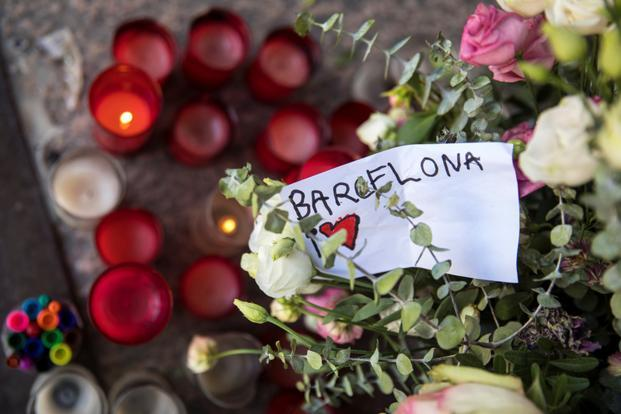 Four Spain attack suspects in court for questioning