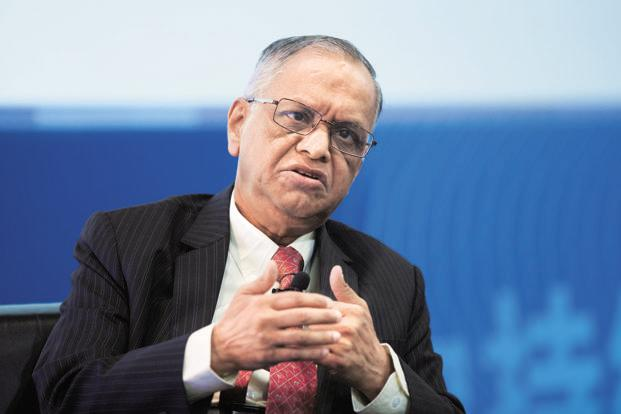 Infosys co-founder N. R. Narayana Murthy is expected to answer questions and address concerns that rose following CEO which has spooked investors. Photo: Bloomberg